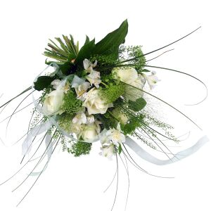 Loving memories -funeral bouquet